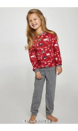 Детская пижама для девочки утепленная Ellen Magic time CNP 004/001*