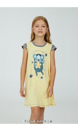 Детская ночная рубашка для девочки Ellen Coala space GDK 123/00/01