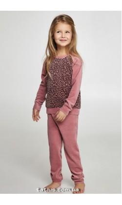 Детская пижама для девочки велюровая Ellen GNP 043/003