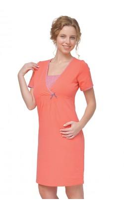 Ночная рубашка для беременных и кормящих Мамин Дом Harmony-24160
