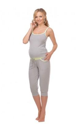 Пижама для беременных и кормящих Мамин Дом Pilates-25404
