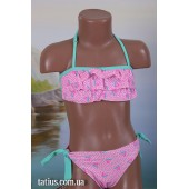 Раздельный детский купальник Teres-936,Розовый