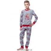 Детская пижама для мальчика утепленная Ellen BNP 027/001*