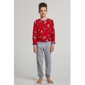 Детская пижама для мальчика утепленная Ellen BNP 027/005*