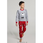 Детская пижама для мальчика утепленная Ellen GNP 041/001*