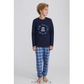Детская пижама для мальчика утепленная Ellen Bonbon BPF 0881/01/01