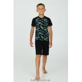 Детская пижама для мальчика с шортами Ellen Skateboard BPK 2270/02/01