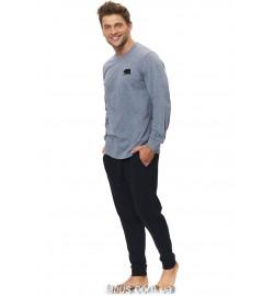 Мужские пижамы с брюками (24)