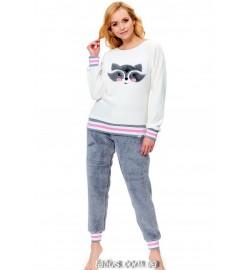Пижамы с брюками теплые (25)