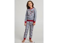 Детская пижама для девочки утепленная Ellen GNP 016/005*