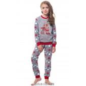 Детская пижама для девочки утепленная Ellen GNP 016/002*