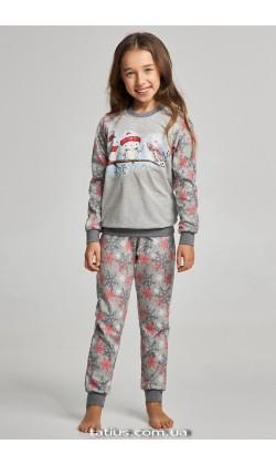 Детская пижама для девочки утепленная Ellen GNP 017/003*
