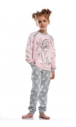 Детская пижама для девочки утепленная Ellen GNP 021/001
