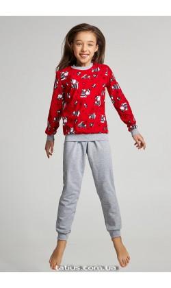 Детская пижама для девочки утепленная Ellen GNP 035/002*