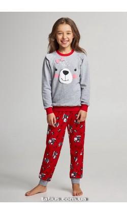 Детская пижама для девочки утепленная Ellen GNP 067/001*