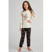 Детская пижама для девочки утепленная Ellen GNP 068/001*