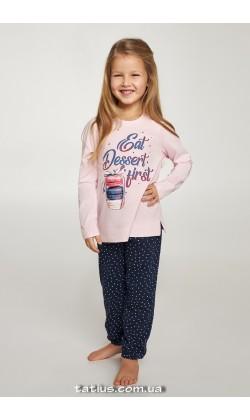 Детская пижама для девочки Ellen GNP 077/001