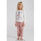Детская пижама для девочки Ellen Ballerina GPK 0482/01/01