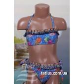 Раздельный подростковый купальник Teres-850,Синий