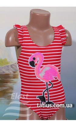Купальник детский слитный Teres-832,Красный