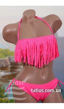 Раздельный подростковый купальник Teres-839,Ярко розовый