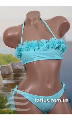 Раздельный подростковый купальник Teres-837,Голубой