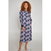 Ночная рубашка женская утепленная Ellen Let it snow LND 338/001*