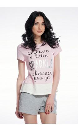 Пижама женская c шортами Ellen LNP 086/001