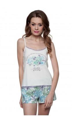 Пижама женская c шортами Ellen LNP 147/001