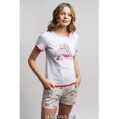Пижама женская c шортами Ellen LNP 189/001
