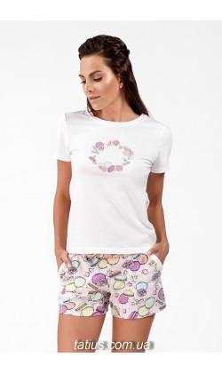 Пижама женская c шортами Ellen LNP 191/001