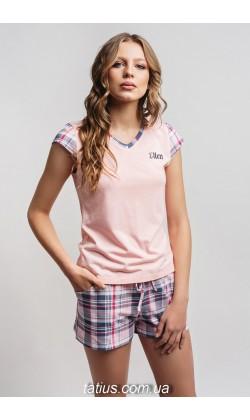 Пижама женская с шортами Ellen LNP 217/001