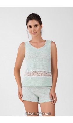Пижама женская c шортами Ellen LNP 240/002