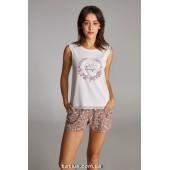 Пижама женская c шортами Ellen LNP 291/001
