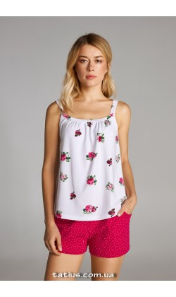 Пижама женская c шортами Ellen LNP 315/001