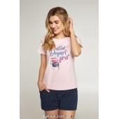 Пижама женская c шортами Ellen LNP 351/001