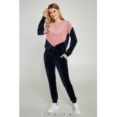 Велюровый прогулочный костюм Ellen Onyx LOV 006/003