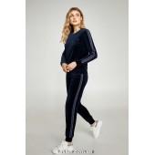 Велюровый прогулочный костюм Ellen Sport Chic LOV 007/001