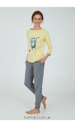 Пижама женская Ellen Coala space LPK 0981/01/01