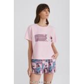 Пижама женская c шортами Ellen Violet LPK 2970/01/01
