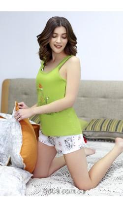 Пижама женская с шортами Roksana Mademoiselle-572