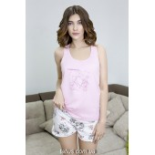 Пижама женская с шортами Roksana Mademoiselle-579