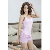 Пижама женская с шортами Roksana Mademoiselle-597