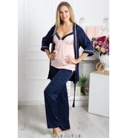 Комплект халат+пижама (9)