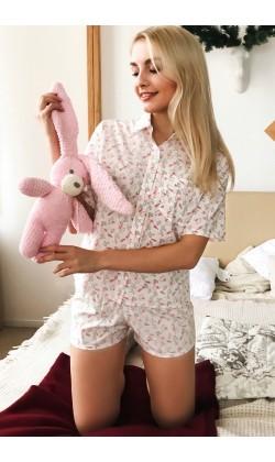 Пижама женская с шортами Modena P032-1