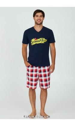 Пижама мужская с шортами Ellen Flaming MPK 2070/02/01