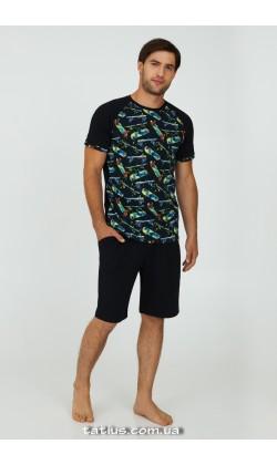 Пижама мужская с шортами Ellen Skateboard MPK 2270/02/01
