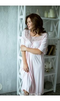 Ночная рубашка женская Violet delux НС-М-41,Розовый