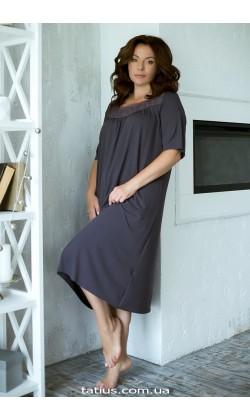 Ночная рубашка женская Violet delux НС-М-41,Лавандовый туман