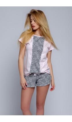 Пижама женская с шортами Sensis Diana